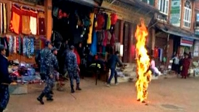 nepal-self-immolation